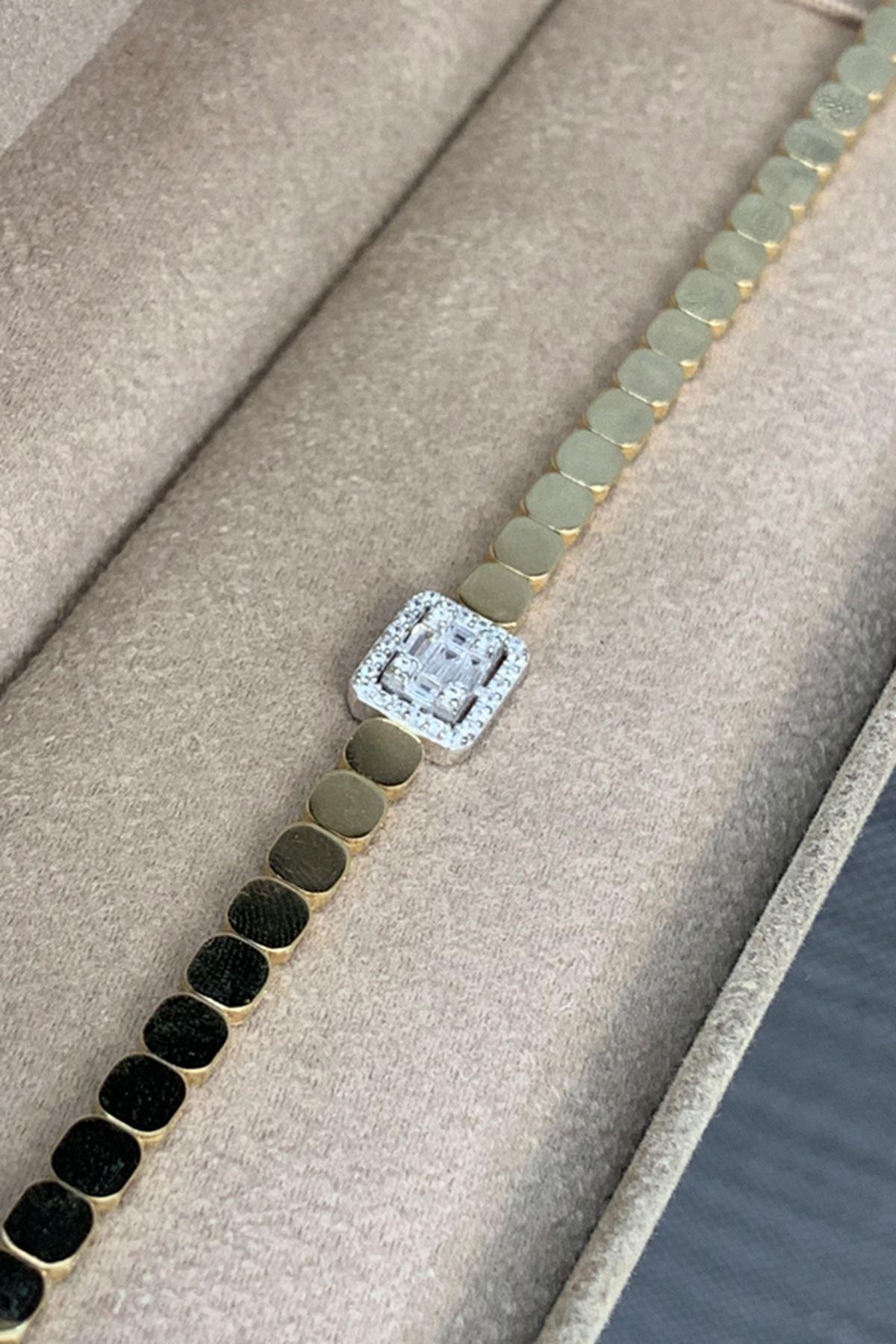 Altın Bileklik Y00437