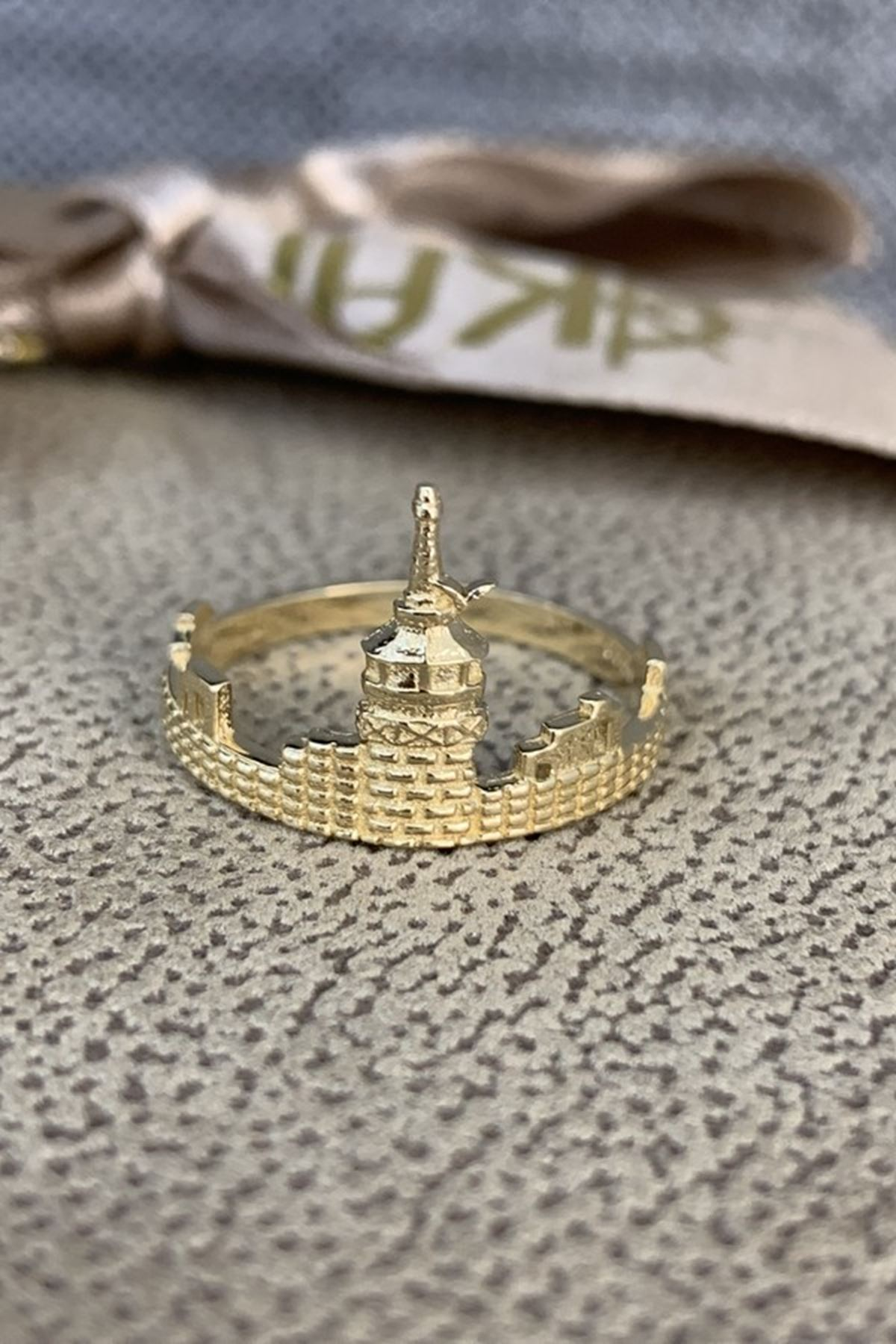 Kız Kulesi Altın Yüzük YZ00265