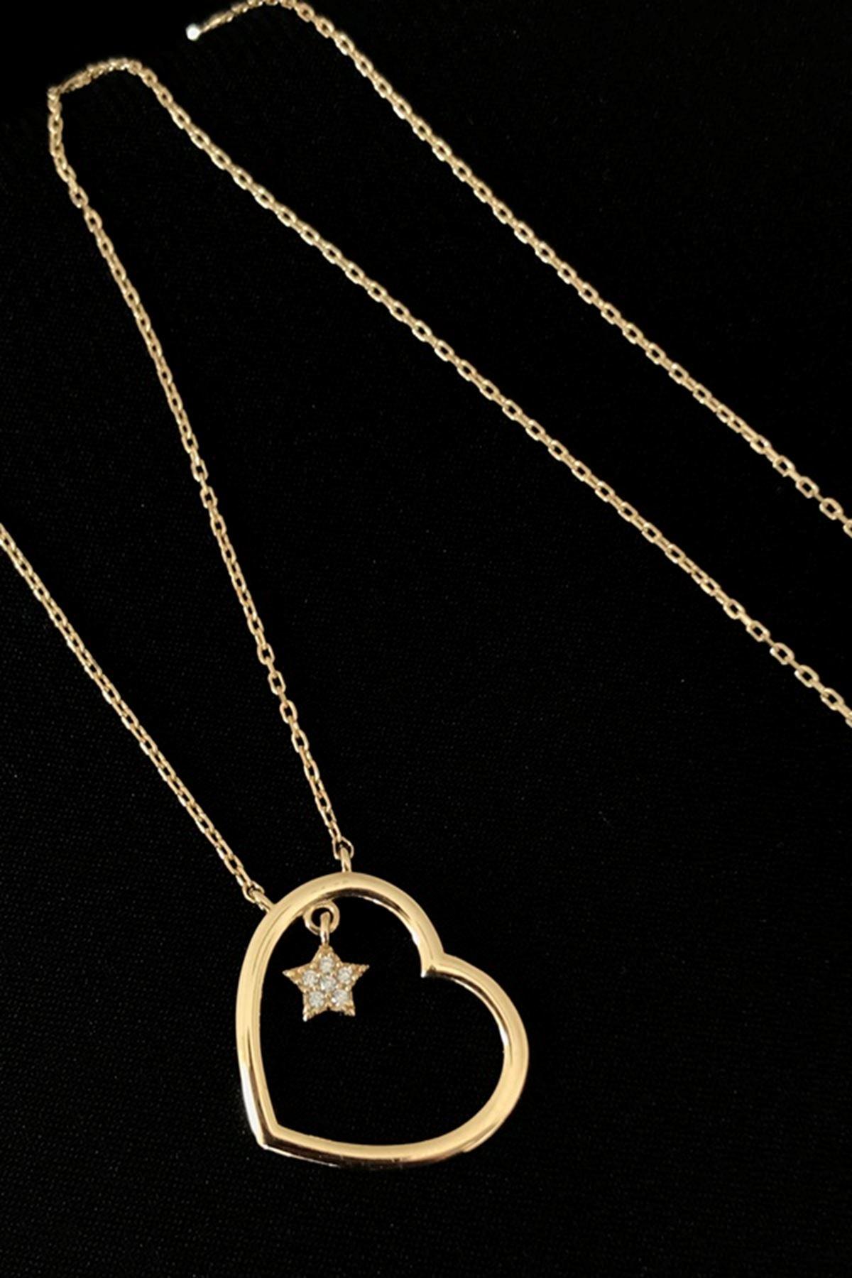 Kalp-Yıldız Kolye KL0262